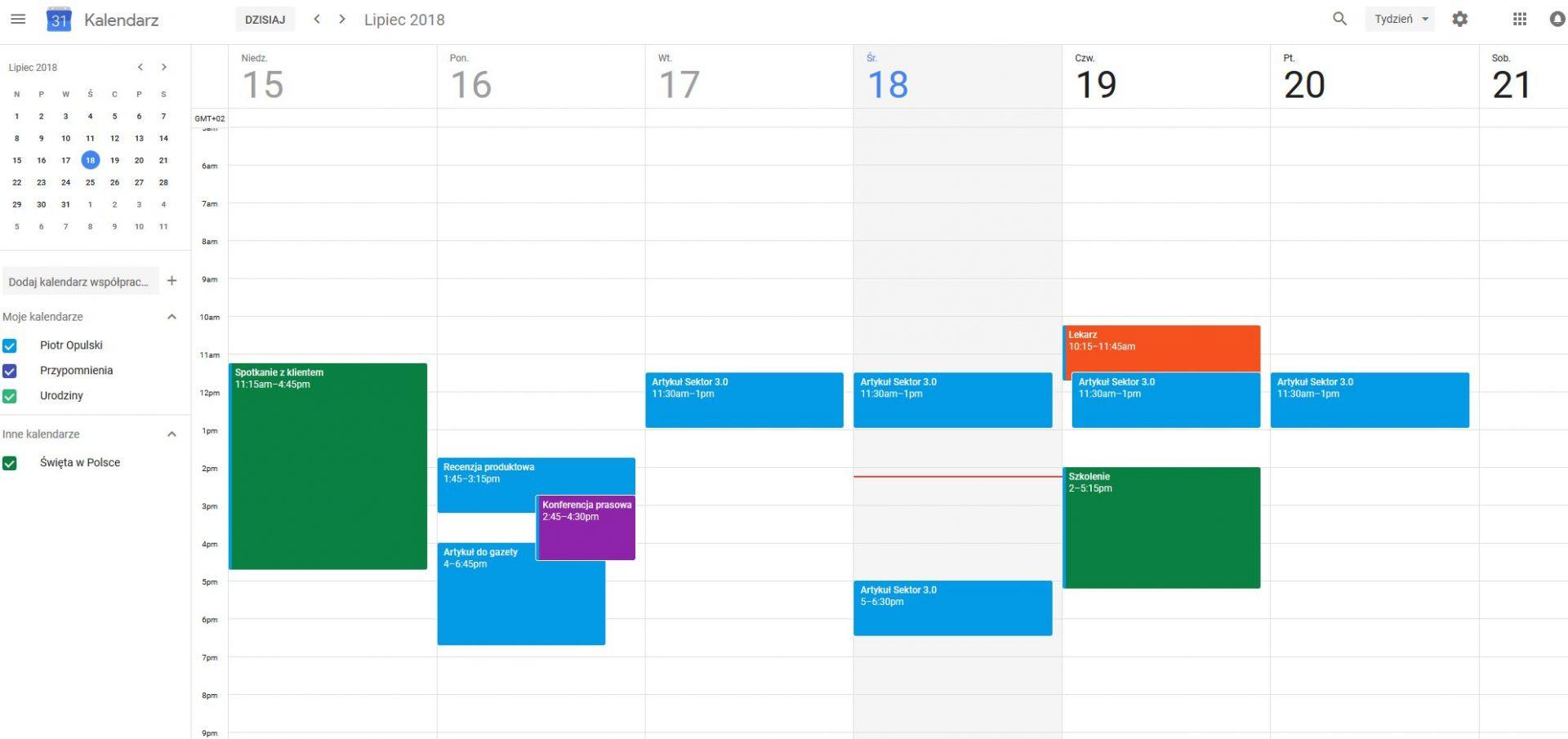 Elektroniczny kalendarz online dating