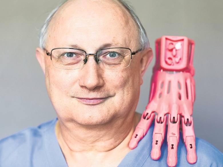 krzysztof grandys 3d druk proteza dzieci Elektroniczny szkielet idrukowana proteza