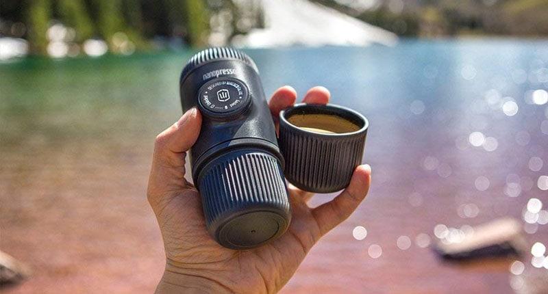 Nanopress kawa wakacje