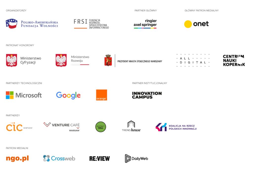 Festiwal Sektor 3.0 Driving Change Online partnerzy