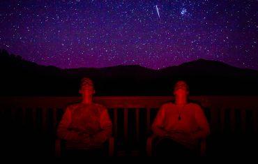obserwacja nieba gwiazdy