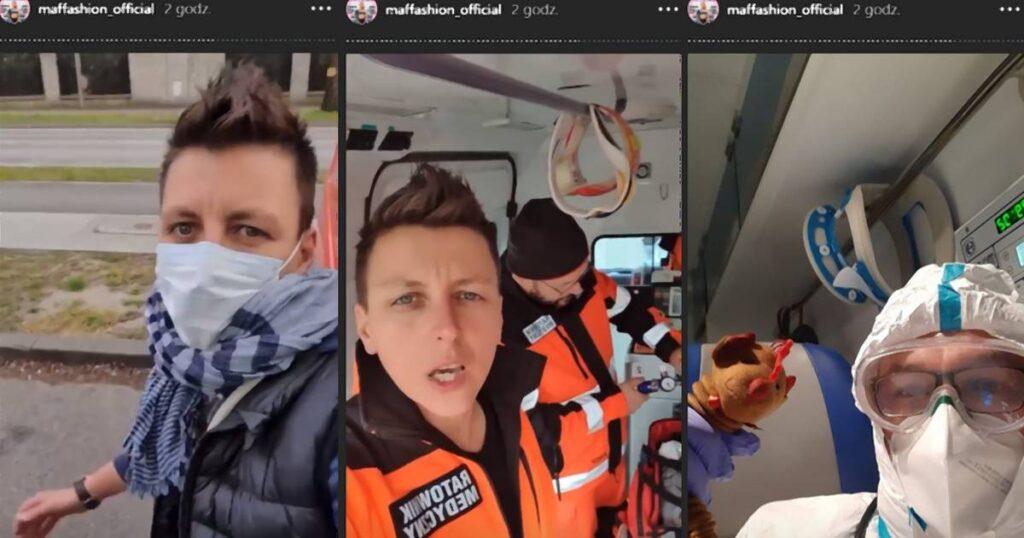 Przejęliśmy Instagrama Maffashion, by pokazać pracę ratowników medycznych